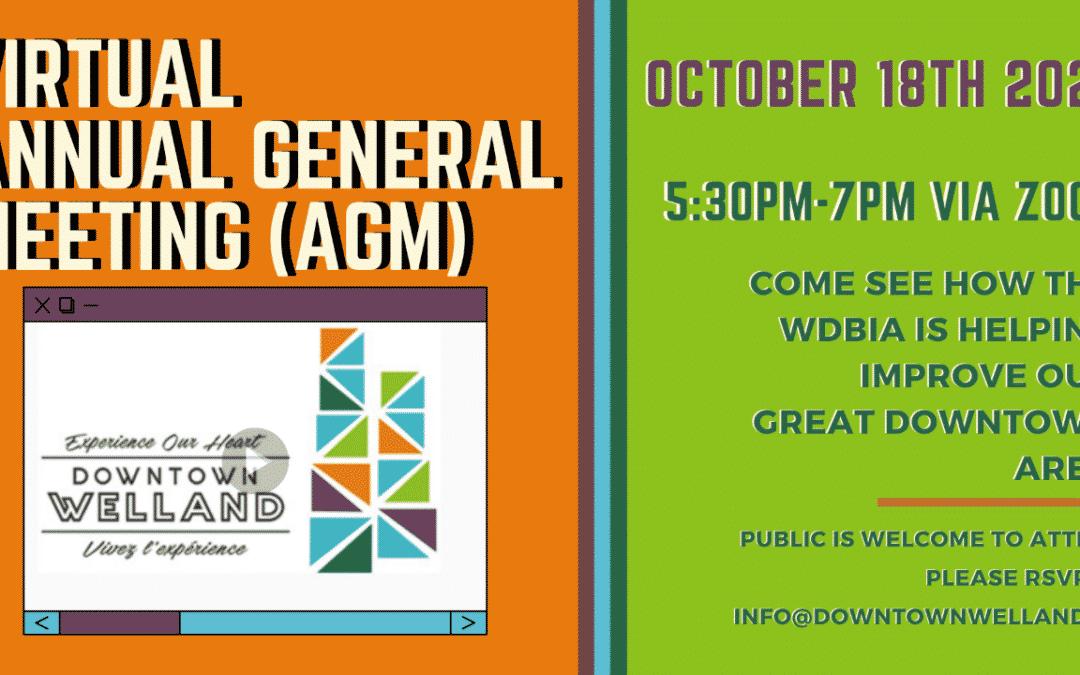 2021 Virtual Annual General Meeting (AGM)